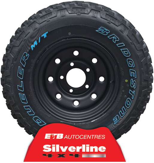 Bridgestone 4X4 tyres and Wheels